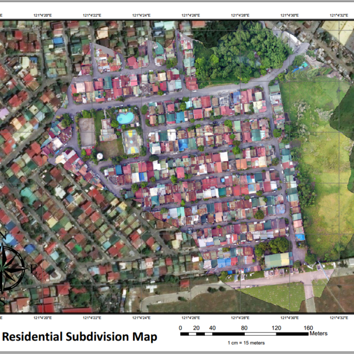 Residential Subdivision Map